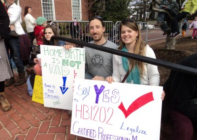 Rally 2013 - Home birth is not a fad
