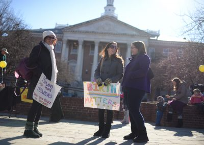 MFSB Midwife support rally, HB9, SB105 © Eleanor Kaufman 2015