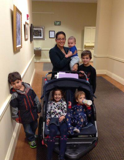 Lobby Day 2015 - family